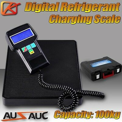 Digital Electronic Refrigerant Charging Weighing Weight Scale HVAC REFRIGERATION