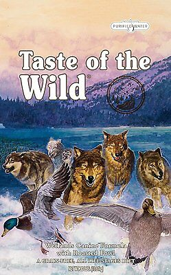 Taste of the Wild Dry Dog Food Flavor Name: Wildfowl  30-Pound (418573)  DTF NEW
