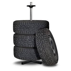 Tire Storage Stand with Cover