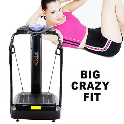 BTM CRAZY FIT Oscillating VIBRATION Power Massage PLATE 2000W Fitness Machine