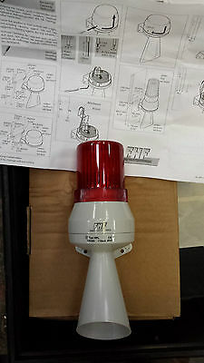 Fhf Funke Huster Siren With Signal Hpl 12Vdc Light Red (R6S3.5B1)