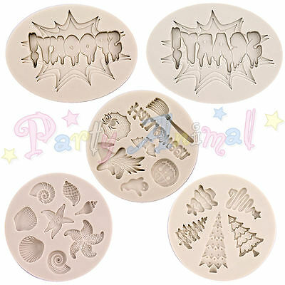 Alphabet Moulds - High Quality Sugarcraft Silicone Cake Cupcake Moulds
