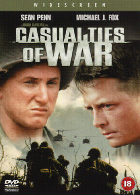 Casualties of War DVD (2002) Michael J. Fox, De Palma (DIR) cert 18 Great Value