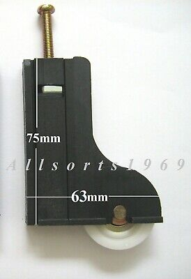 Sliding wardrobe door roller wheel in carriage premium quality rollers wheels