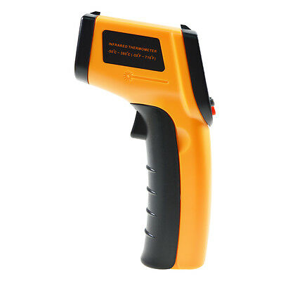 New Digital LCD Non-Contact Laser Temperature Gun IR Infrared Thermometer GM330