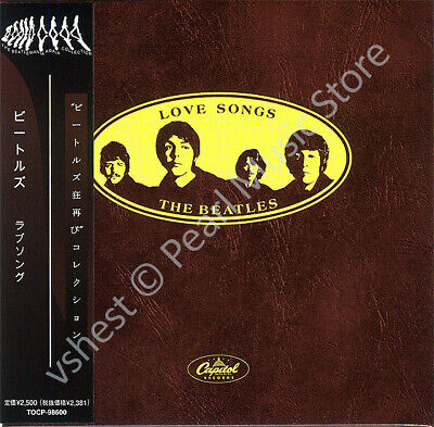 BEATLES LOVE SONGS CD MINI LP OBI Harrison Lennon McCartney Starr new sealed