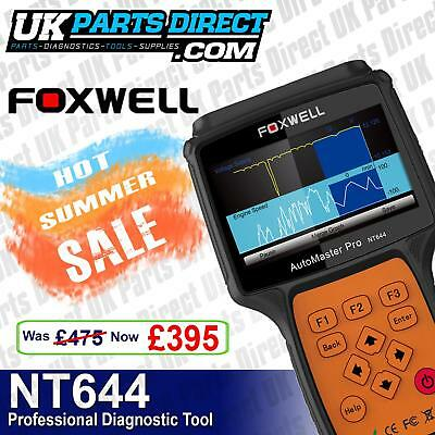 Foxwell NT644 PRO All System - Full Vehicle Diagnostic Scan Tool - 2016 MODEL