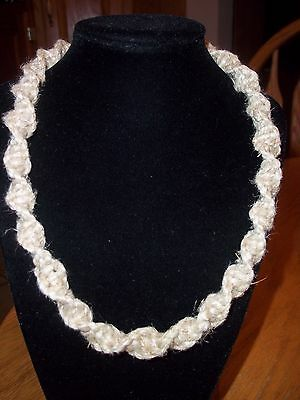 Hand Crafted Fat Twisted Hemp Necklace Custom Made (Order by Length)