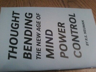 THOUGHT BENDING book mind power control positive thinking reinforcement----