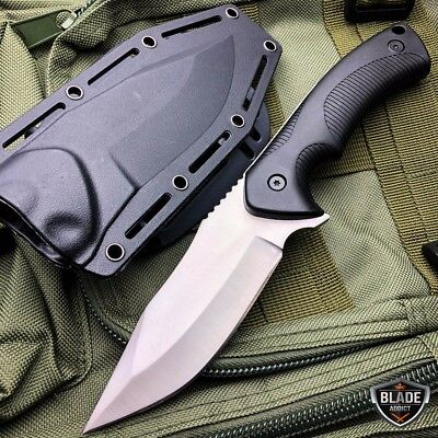 Heavy Duty Hunting Camping Fixed Blade Survival Military Bowie Knife + SHEATH