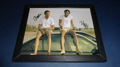 "Childish Gambino & Chance The Rapper Signed & Framed 10""x8"" Inch Photo Repro"
