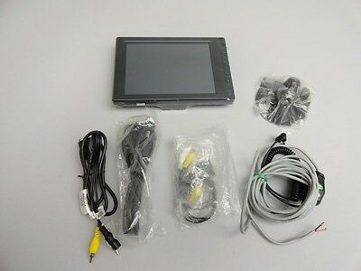 """New 8"""" inch LCD touchscreen monitor for cars AV/VGA output wide screen TFT"""