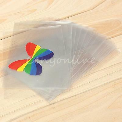 100 Small Genuine Polyprotec Postcard Photo Sleeves Wallets Envelopes 160*105mm