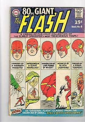 Eighty Page Giant # 4 Around the World in 80 Mins ! Flash ! grade - 3.0 hot  !!