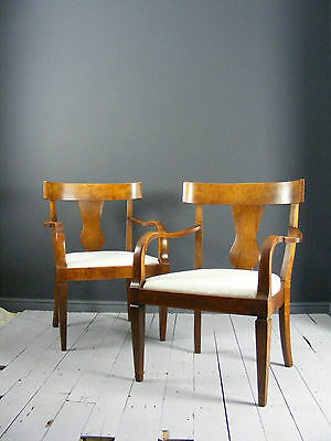 Pair of Art Deco fireside chairs