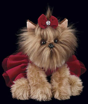 Yuletide Yorkie 540160 from Bearington Collection NWT Stuffed Animal