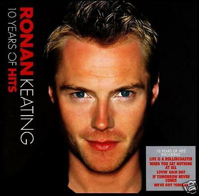 Ronan Keating - 10 Years Hits Cd ~ The Voice ( Boyzone ) Greatest/best Of *new*