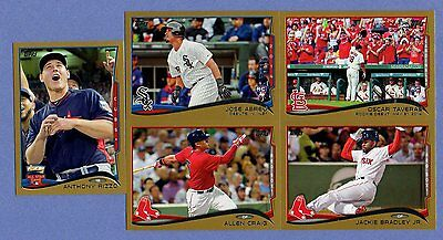 2014 TOPPS UPDATE GOLD /2014 SINGLES U PICK COMPLETE YOUR SET US-61 THRU US-120