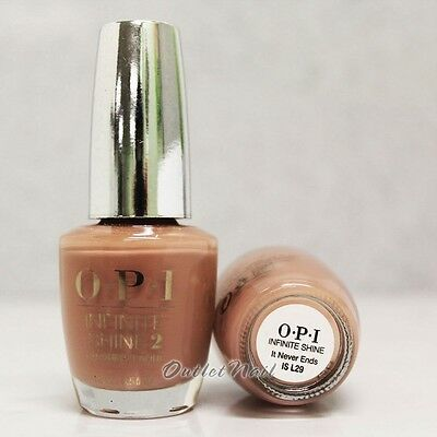 OPI INFINITE SHINE It Never Ends - Air Dry 10 Day Nail Polish 0.5 oz IS L29