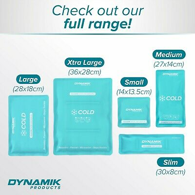 Koolpak Luxury Reusable Hot/Cold Packs With Optional Covers or Sleeves (S - XL)