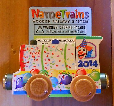 Name Train 2014 Engine Anvs Clown 20 yrs Circus Thomas Com Wooden Wood Toys
