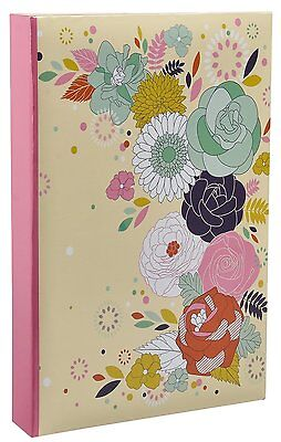 """Photo Album Slip In Memo 4x6"""" For 300 Pictures Vintage Butterfly by Arpan"""