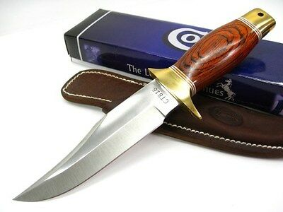 COLT Redwood Fixed Blade Clip Point Hunter HUNTING BOWIE Knife + Sheath! CT816