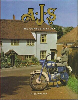 AJS The Complete Story Matchless Sunbeam TT AMC Trials Racing Motocross +