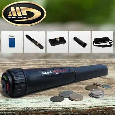 Makro Pointer Pinpointer Waterproof Probe Metal Detector Led Light and Extras