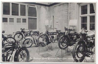 Montagu Motor Museum 1959 posted postcard by Sweetman