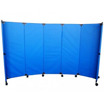 MP10 Economy Portable Room Divider 2m x 3m Blue