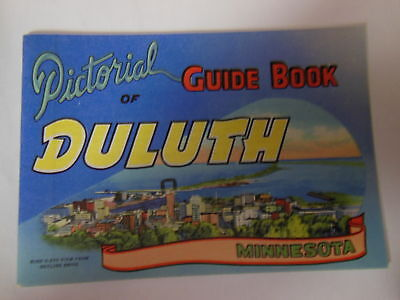 Pictorial Guide Book of DULUTH, Minnesota Birdseye view from Skyline Drive 1949
