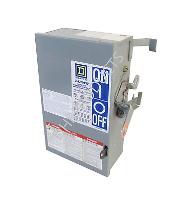 Square D Pq3603G 30 Amp 600 Volt 3P3W Fusible Busway Switch Bus Plug