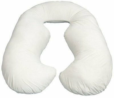 BRAND NEW! Leachco Back 'N Belly Contoured Body Pillow, (Ivory)