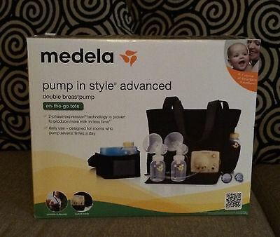 Medela Pump In Style Advanced Double Breast Pump with On the Go Tote