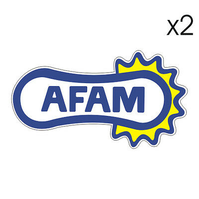 Stickers plastifiés AFAM - 10cm x 5,5cm