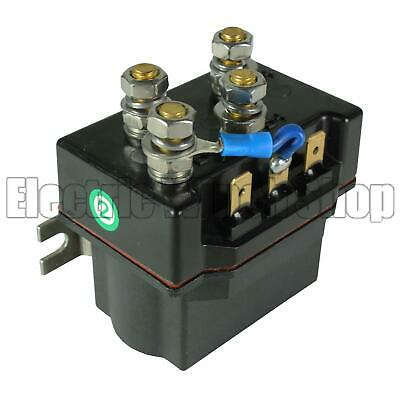 12v Solenoid - Up to 4500lb Winches