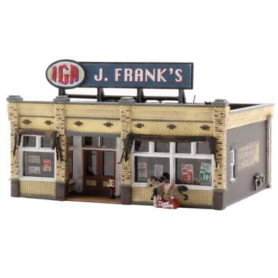 NEW Woodland Scenics J. Frank s IGA Grocery Store N BR4941