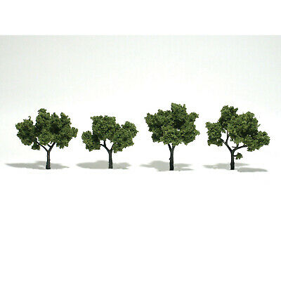 NEW Woodland Scenics Assembled Tree Light Green 3  TR1503