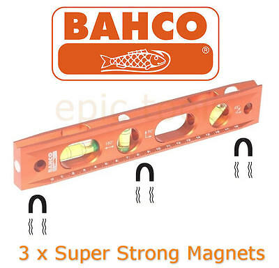 "BAHCO 9""/230mm Gerüstbauer/Bauarbeiter/Boot Magnetisch Metall Torpedo Level,"