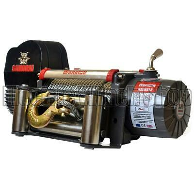 Warrior S9500 Samurai 12v Winch