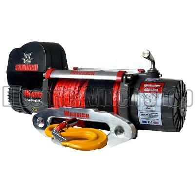 Electric Winch Warrior Samurai 9500lb 12v Synthetic  Rope Long Warranty Wireless