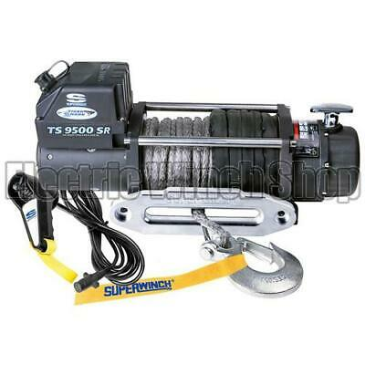 Superwinch Tiger Shark 9.5SR 12v Winch with Synthetic Rope