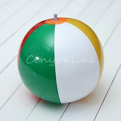 23cm INFLATABLE BLOW UP TRADITIONAL BEACH BALL Party Toy Playing Ball Game