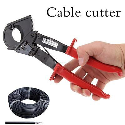 Ratchet Cable Cutter Cut Up To 240mm² Max HS-325A Aluminum Copper Wire Cutter