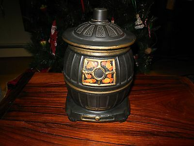 McCoy Pottery -  Pot Belly Stove Cookie Jar - Made in U.S.A.