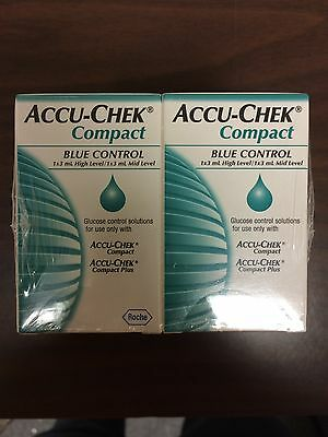 Accu-Chek Compact Control Solution LOT OF 6 BOXES at a discounted price!!