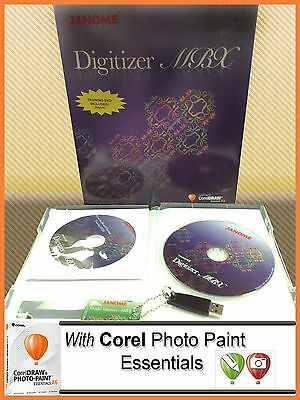 Janome Digitizer MBX 4.5 Embroidery Digitizing Embroidery Software New