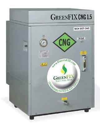 CNG 1.5 CNG Compressor (Natural Gas Vehicle Refueling Appliance VRA)
