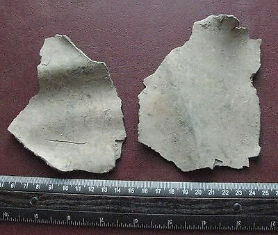 Authentic Ancient > ROMAN to Medieval - Lot of 2 LARGE Bronze Artifacts 12681 • CAD $94.63